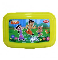 Chhota Bheem Lunch Box Light Green