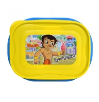 Chhota Bheem Lunch Box Light Yellow & Blue