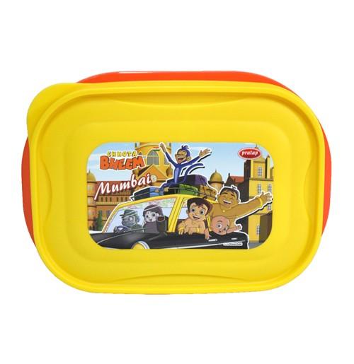 Chhota Bheem Lunch Box Yellow & Orange