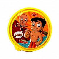 Chhota Bheem Round Lunch Box Orange