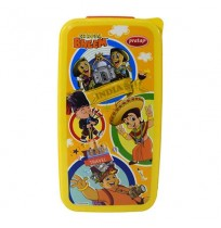 Chhota Bheem Mini Lunch Box Yellow And Orange