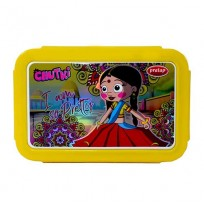 Chhota Bheem Insulated Lunch Box Yellow