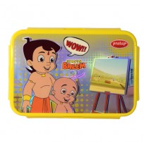 Chhota Bheem Lunch Box Red Yellow