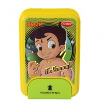 Chhota Bheem 1 Lock Green Lunch Box