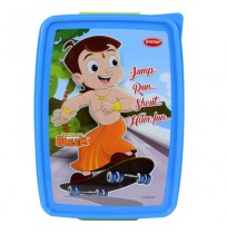 Chhota Bheem 2 Partition Lunch Box-Green