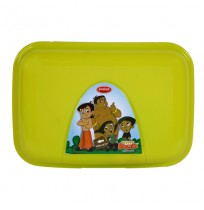 Chhota Bheem Happy Bite Lunch Box-Green