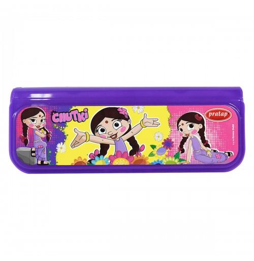 Chhota Bheem Pencil Box Purple