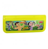 Chhota Bheem Pencil Box Light Green1