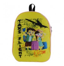 Chhota Bheem and Chutki Light Pink