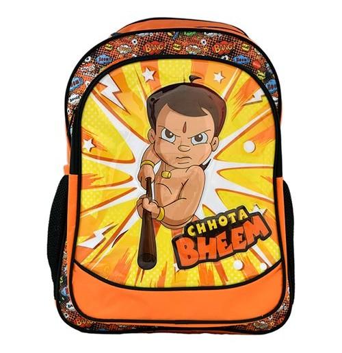 Chhota Bheem School Bag - Orange