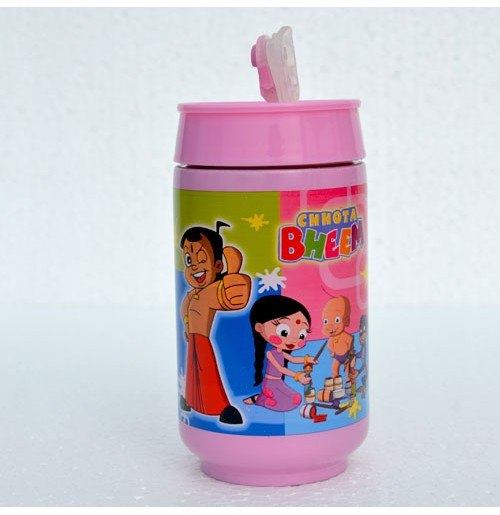 Sports Bottle Chhota Bheem - Pink