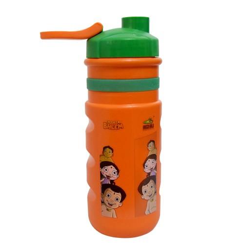 Chhota Bheem Sports Bottle - Green & Orange