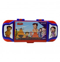Chhota Bheem Pencil Box Red & Blue