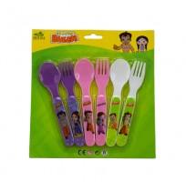 Chhota Bheem Cutlery Set
