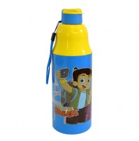Chhota Bheem Water Bottle Blue and Yellow