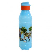 Chhota Bheem Water Bottle Light Blue and Orange1