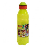 Chhota Bheem Water Bottle Light green and Orange1