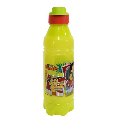 Chhota Bheem Water Bottle Light green and Orange1