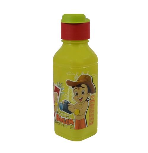 Chhota Bheem Water Bottle 300ml-Light Green