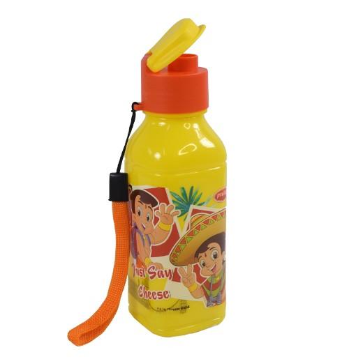 Chhota Bheem Water Bottle 300ml-Yellow