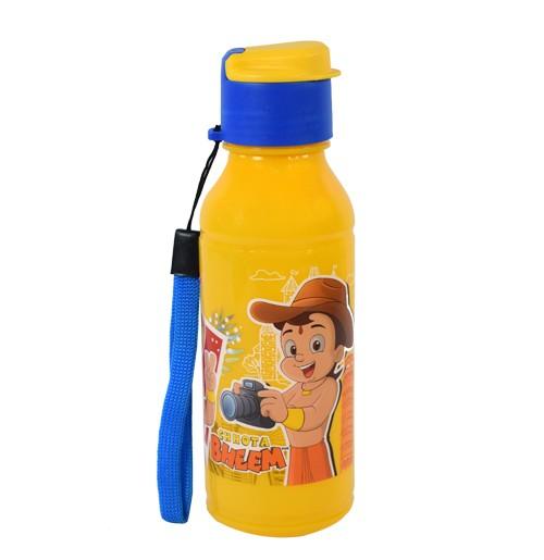Chhota Bheem Rocket 300ml Water Bottle-Yellow