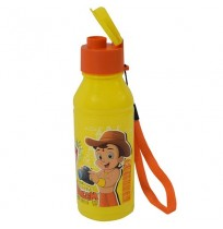 Chhota Bheem Water Bottle Yellow