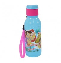 Chhota Bheem Water Bottle Blue and Pink
