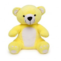Soft Hug Teddy bear Yellow 36 Cm
