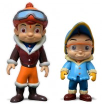 Chhota Bheem & Raju Action Toy