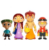 Chhota Bheem 4-IN-1 Action Figure Toys Combo