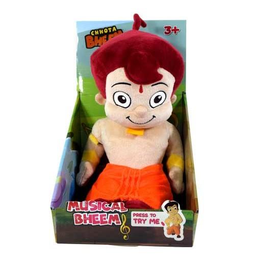 Chhota Bheem Sitting Battery Operated Plush toy