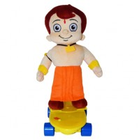 Chhota Bheem With Skate B/O Plush Toy