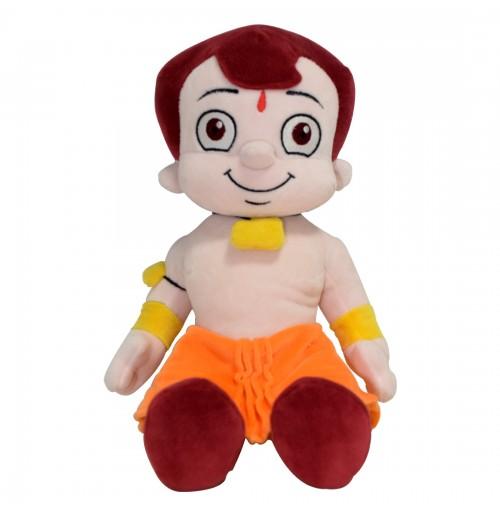Chhota Bheem Plush Toy - Sitting - 30cm