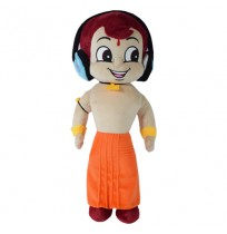 Chhota Bheem Plush Toy With Headphone  - 40cm