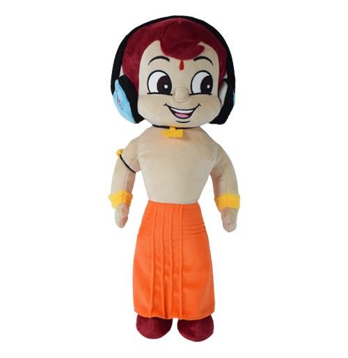 Chhota Bheem Plush Toy With Headphone  - 40cm