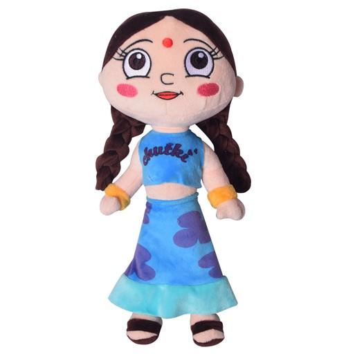 Chutki Plush Toy 33 cm - Blue