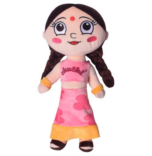 Chutki Plush Toy 33 cm - Pink
