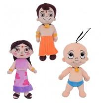 3-IN-1 Combo - Bheem + Chutki + Raju