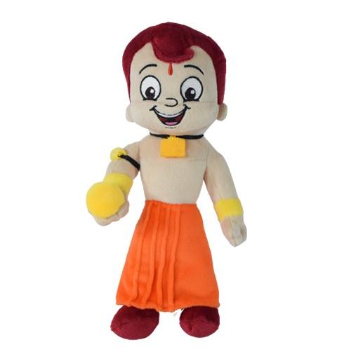 Chhota Bheem Plush Toy with Laddoo - 22cm