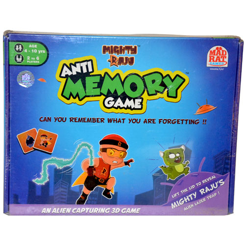 Mighty Raju Anti Memory Game