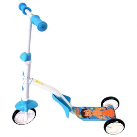 Chhota Bheem 2 - IN - 1 Scooter - Blue
