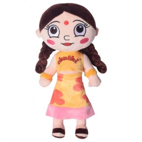 Chutki Plush Toy 33 Cms- Yellow