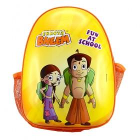 Chhota Bheem Back Pack - Yellow