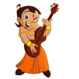 Chhota Bheem Wooden Cutout - Guitar