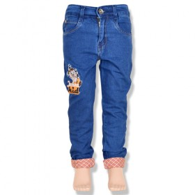 Chhota Bheem Boys Denim Pant-Blue