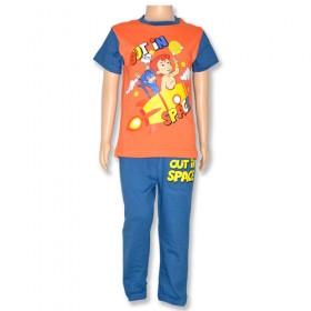 Chhota Bheem Night Suit-Orange