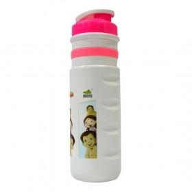 Pull Flap Water Bottle - Chhota Bheem - (2109) - Pink