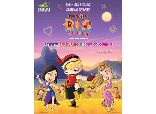 3-in-1 Book of Mighty Raju Rio Calling