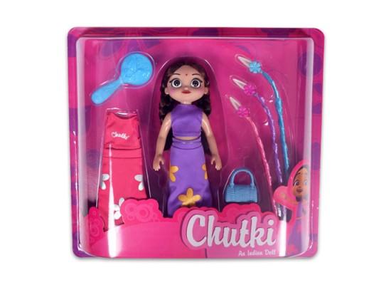 Chutki Doll With Accessories & Dress