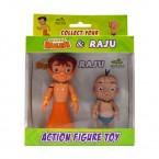 2-IN-1 Chhota Bheem & Raju Action Figure